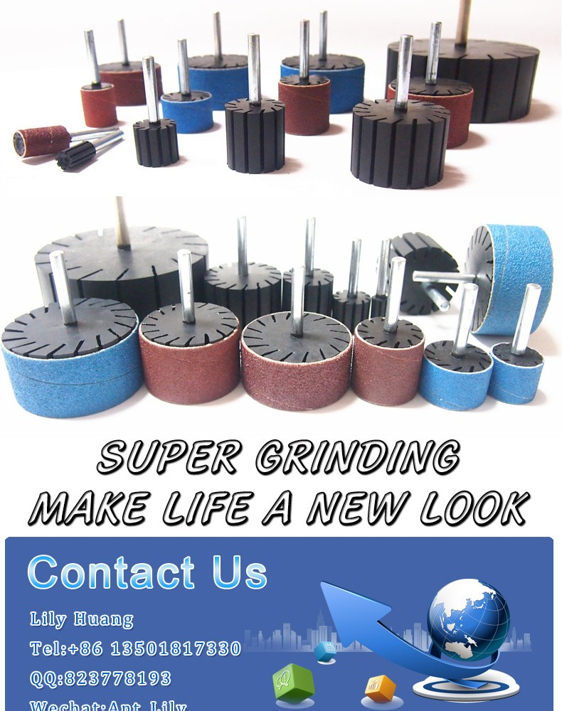 grinding rubber sanding drum polishing sets