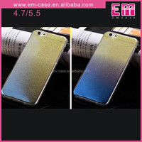 Bling Clear Soft Case For Iphone 6 Gradient TPU Bling Case