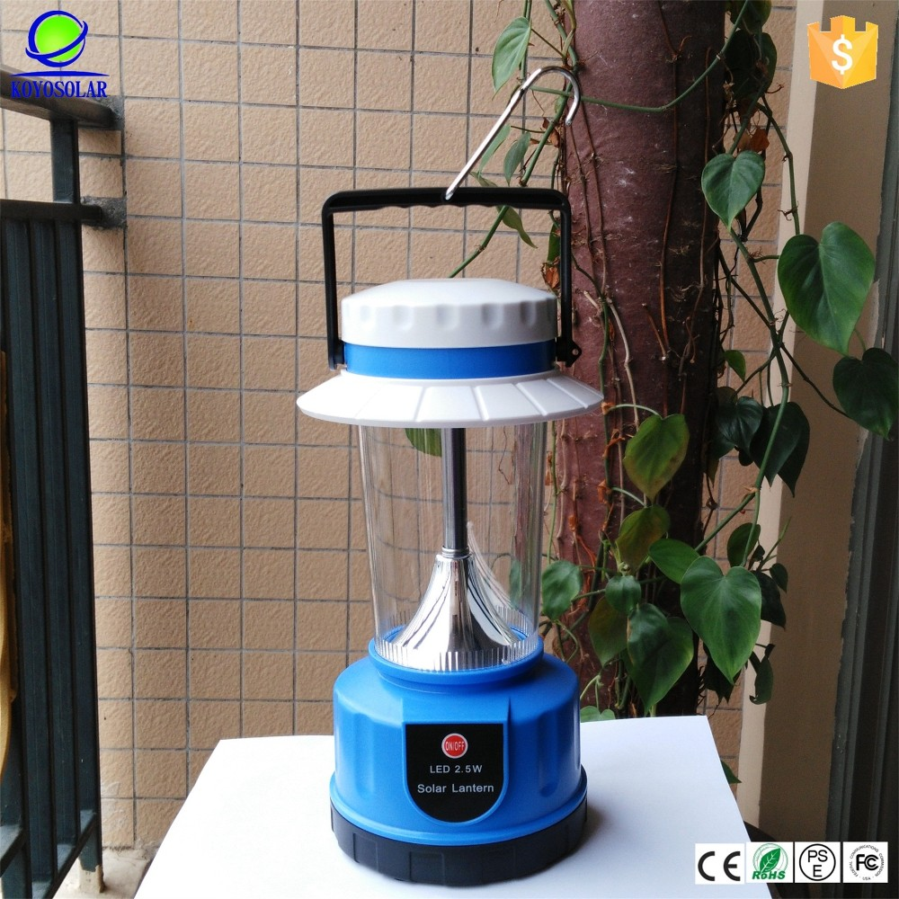 high quality and best service portable table solar lamp with USB port charger