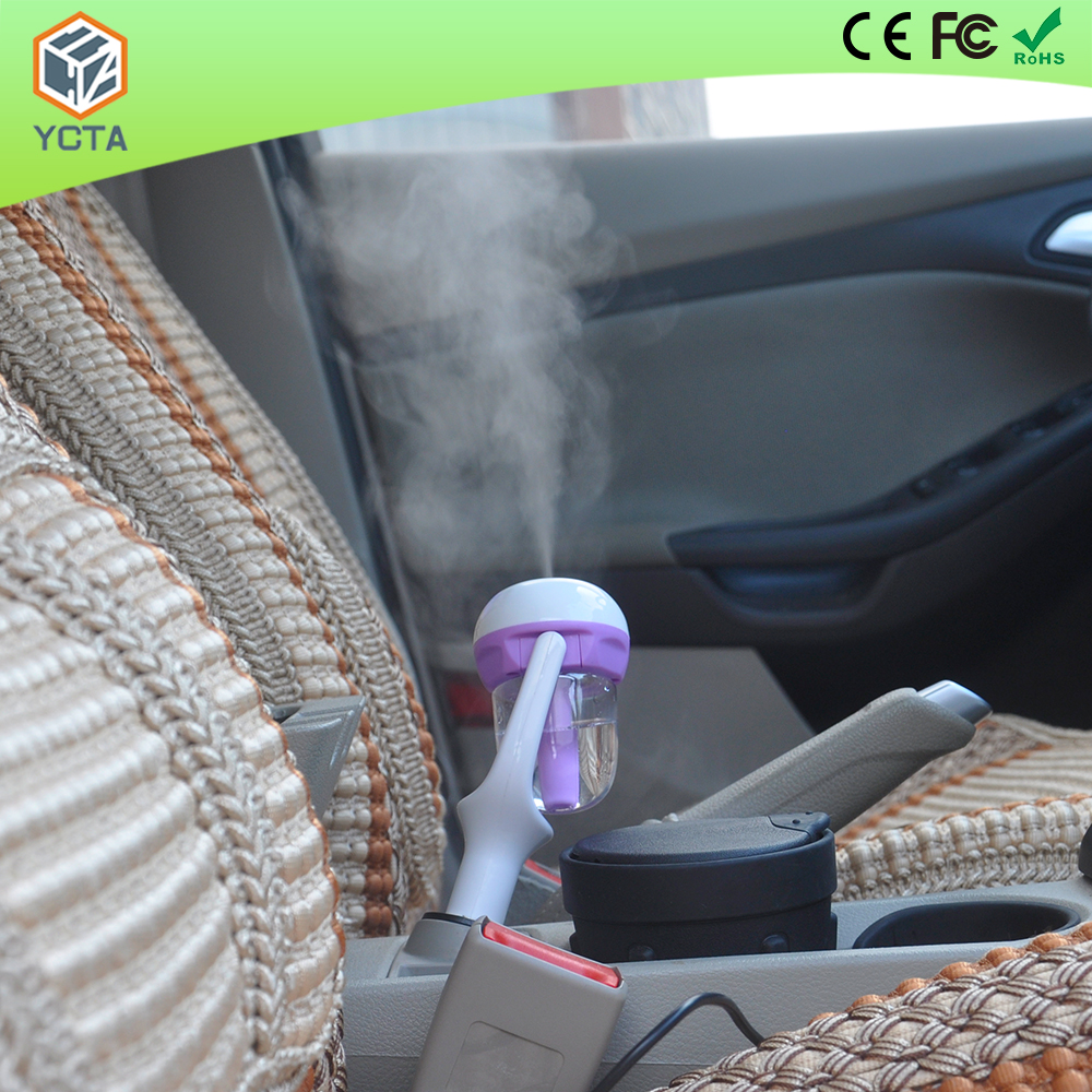 2017 New Fashion Mini Aromatherapy Car Humidifier Air Fresheners With USB