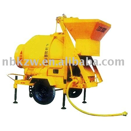 JZM-500 self loading concrete mixer