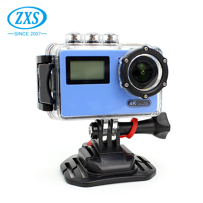 Pocket size lightweight Wifi control waterproof 4k action camera for surfing