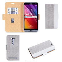 Guangzhou high quality factory direct wholesale assorted color design mobile phone case pu leather case for Asus ZE500KL