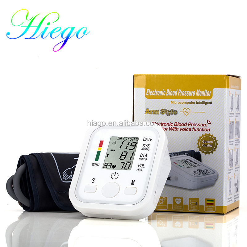 2017 Shenzhen Factory Price Digital LCD Electronic Smart free Blood Pressure Monitor