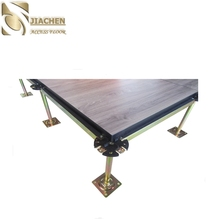 high quality wood grain calcium sulphate network steel raised floor