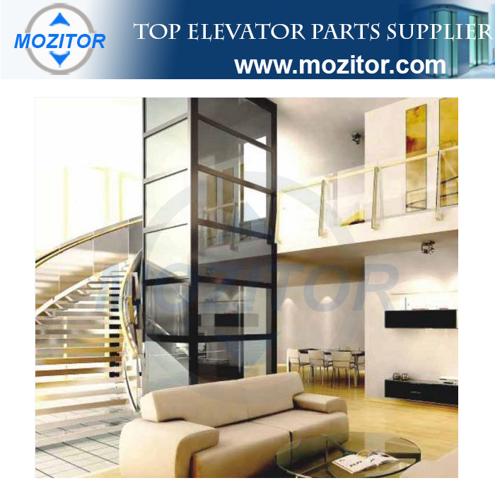 2017 New design cost of elevator in home elevator for 6 passengers