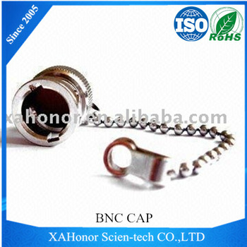 BNC Female Dust-resistant Cap with Chain