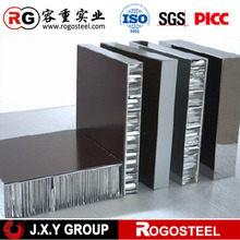 "Thickness 40mm anodized aluminium composite panel with cell size 1""mm"