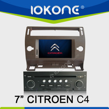 GPS navigator Touch screen Car DVD player for Citroen C4 2005-2009