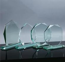 New design K9 superior quality glass trophy award