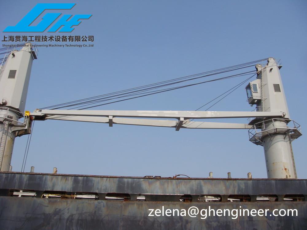 Crane Wire Rope : Electric hoist wire rope luffing marine crane buy