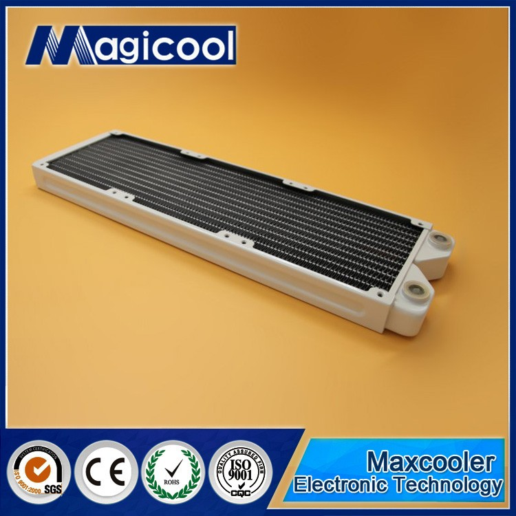 Best Quality Copper Radiator for computer 27mm thickness 360mm length and White color