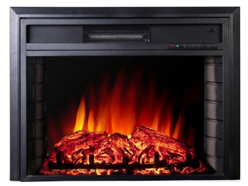 Flat Panel Fireplace Puraflame 36 Inch Remote Portable Wall Mounted