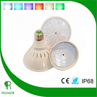 12V RGB 8W 12W 18W 24W 30W E27 par30 par38 PAR56 LED Swimming Pool Light