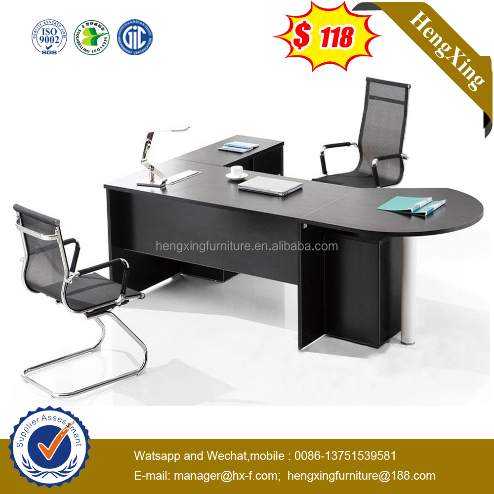 Chinese Modern Office Furniture Wooden Top Executive Desk(HX-6M419)