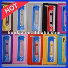 Radio Player 9 Colors Cassette Case For Apple iPhone 5 Tape Case