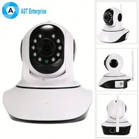 Onvif network cam mini robot ptz wifi wireless ip camera for home security sd card long time video recording