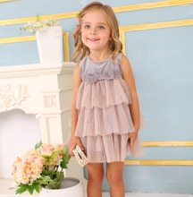 New Fashion Flower Girl Dress Party wedding princess Toddler baby Girls Clothes Child baby girl birthday dresses
