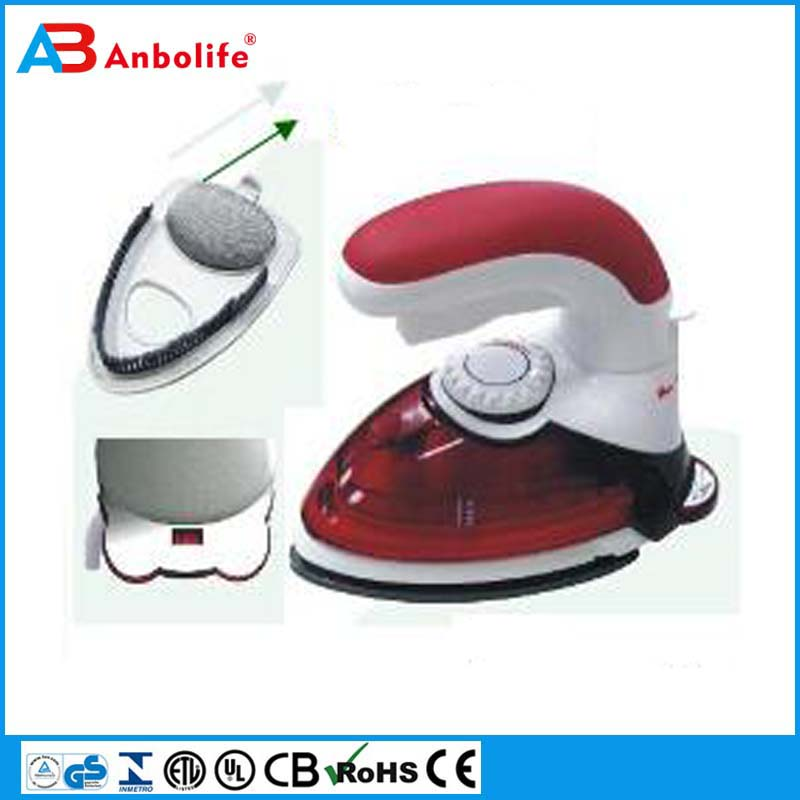Mini travel iron electric pressing iron,clothes iron,handy home dry iron Solar energy saving DC Electric dry iron