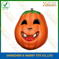 X-MERRY Halloween Pumpkin Creator Free Happy Face Foam Pumpkin Mask Party Fancy Dress Masquerade Costume Decoration