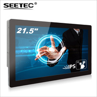 portable full HD 1080p 22inch battery powered led tv with metal frame