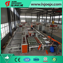 gypsum board surfaced PVC film laminating and coating machine/paper sticking production line