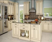 American New Design Solid Wood Kitchen Cabinets with Whited Painted Shaker Door