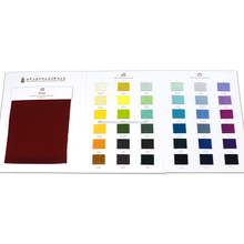 Shenzhen color fabric shade card textile color shade card cashmere shade card