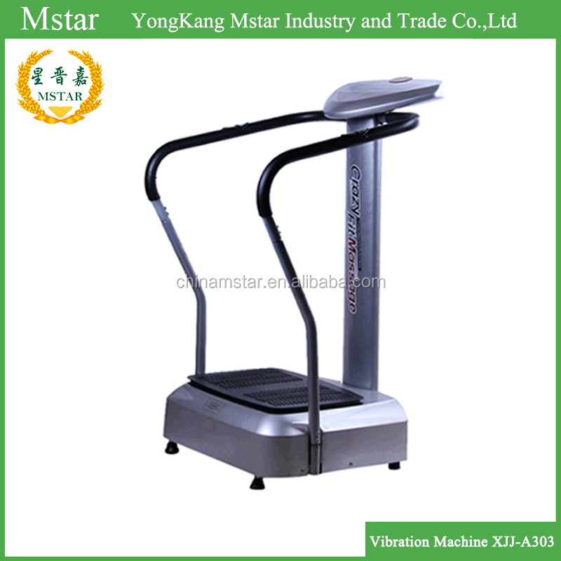 China supplier Ultra Thin vibrating belt exercise machine