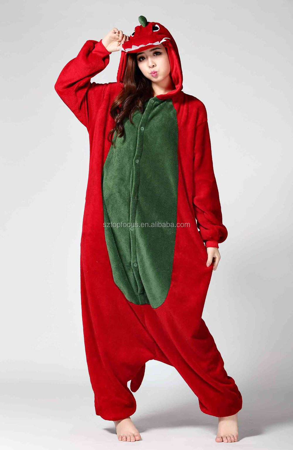 Factory price Cute winter matching family heated adult christmas pajamas