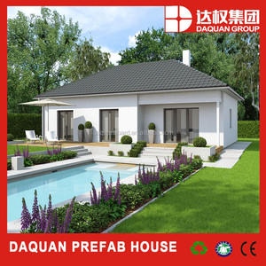 China professional design light steel structure prefab house structural design of small houses