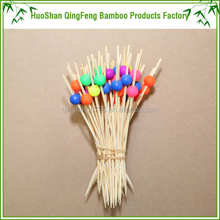 QF Disposable bamboo fruit skewers