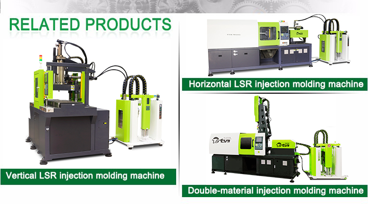 Servo motor system  liquid silicone rubber injection molding machine  for BB pacifier customized