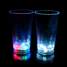 BHN056 Party Product Water Liquid Activated LED Flash Glass