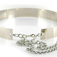 Latest Popular Gold Silver Ladies Chain