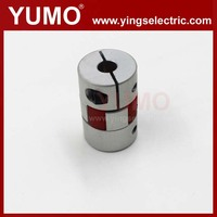 YUMO 20mm 30mm 6mm four segments of polyrethane Servo motor Encoder Aluminum alloy coupling camlock universal joint coupling