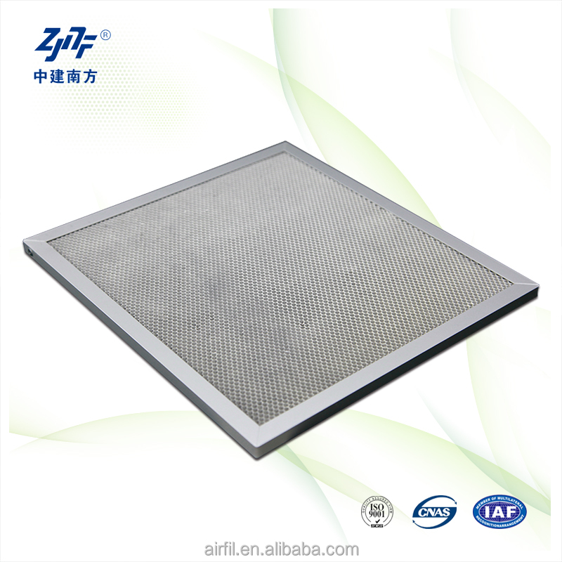 chemicals air filter fiber cabin with aluminium frame from good supplier