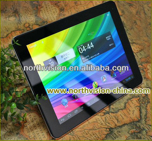 9.7inch Retina 2048*1536 Capacitive Touch Screen table pc with Quad-core, tabletpc with DDRIII 2GB Built-in 16GB