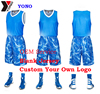 Top Quanlity YONO wholesale cheap price basketball jersey basketball uniform custom printed breathable dry fit