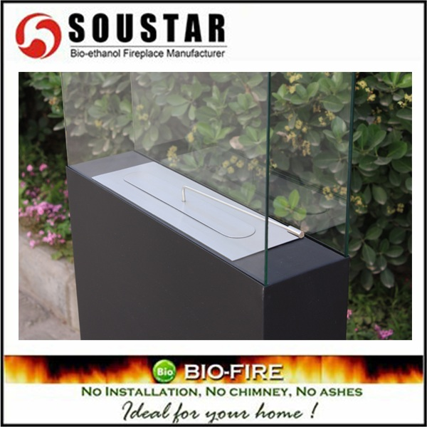 SOUSTAR A3-SB freestanding outdoor fireplace