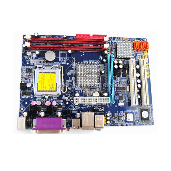 New arrival ddr2 800 667 memory G31 second hand 775 motherboards