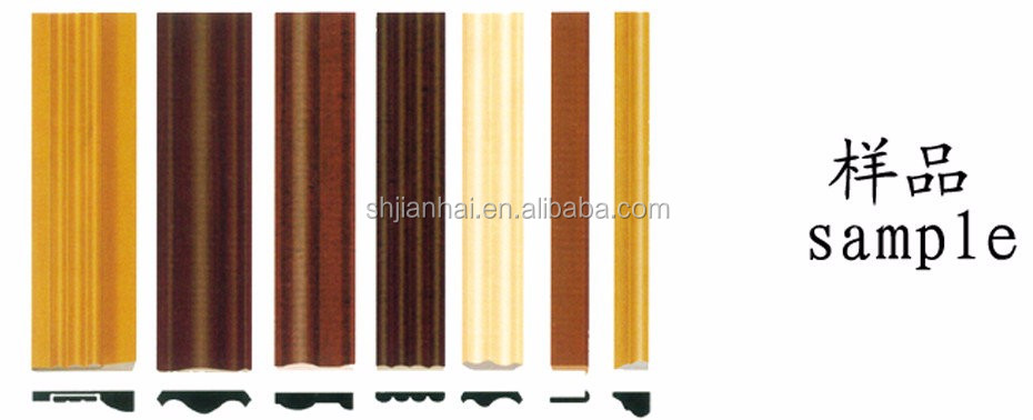 OEM decorated abs flank/ trim/tape for wood furniture