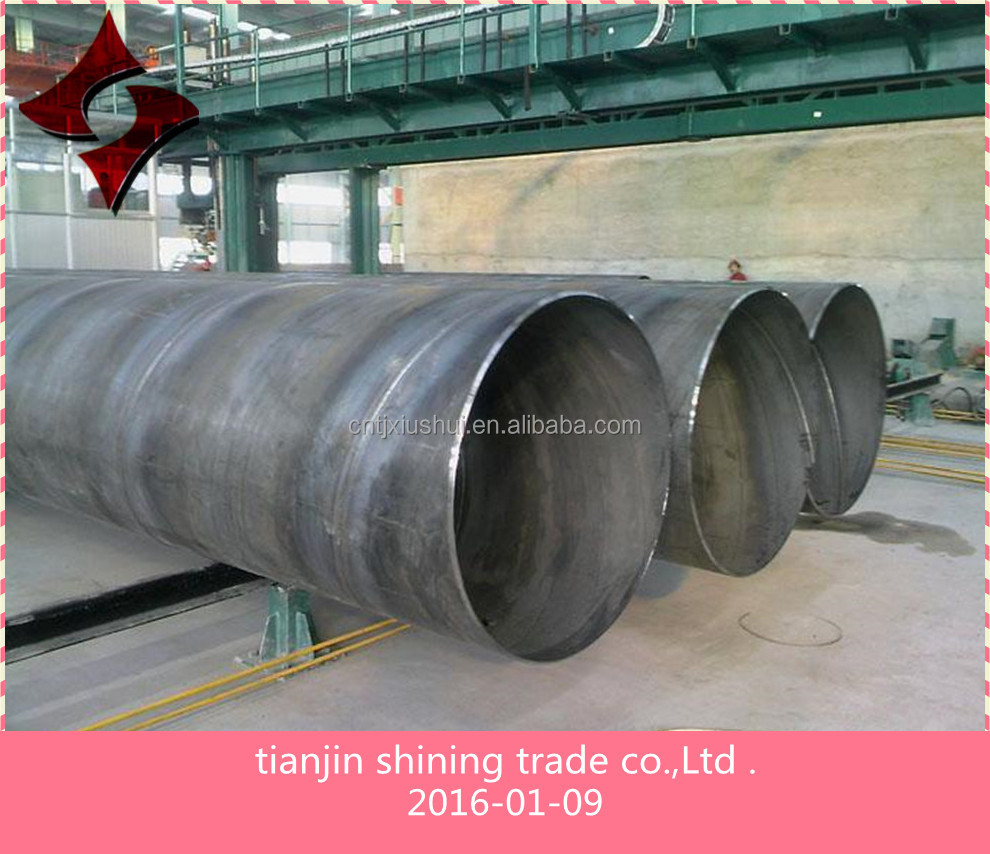 12 meter large diameter oil peplineQ235B SSAW spiral welded carbon steel pipe on sales ,oil pepline