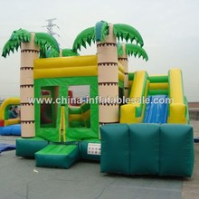 Giant commercial jungle inflatable castle/backyard inflatable jumper/jungle inflatable bouncers