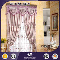 Elgant and High Quality Custom 3d soundproof.custom made curtains for houses