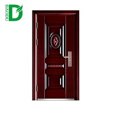 Baodu brand 2018 new design used exterior french steel doors for sale