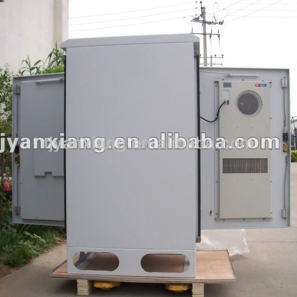Galvanizing plate/ aluminum/stainless steel rack cabinet enclosure with heat exchanger