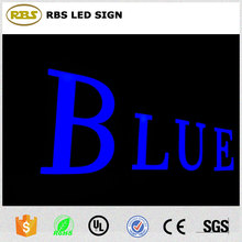 High quality school custom indoor front lit LED epoxy resin sign