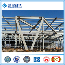 Multi-story steel structure construction for commercial building