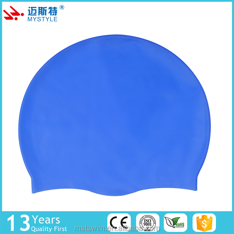 Direct factory price top quality oem children silicone swimming caps hat